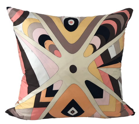 Vintage Pucci Silk Scarf Pillow