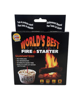 4 pack of the world's best fire starter