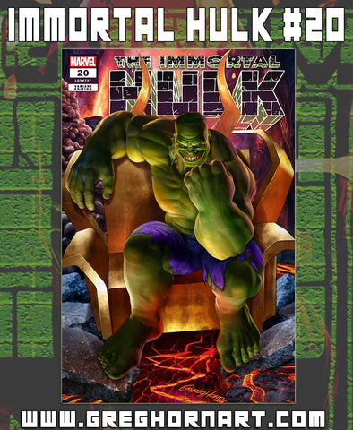 Immortal Hulk # 20 - ComicXposure Greg Horn Art Exclusive Variant