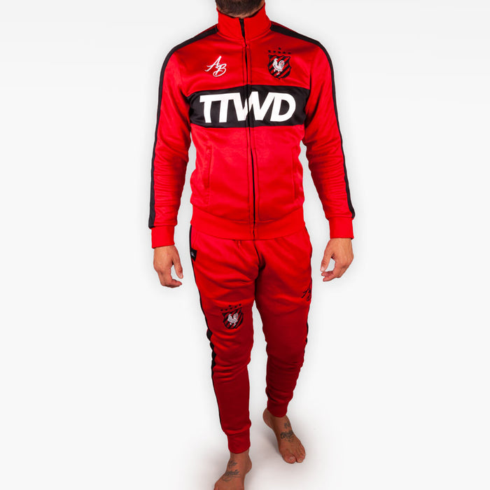 The Official Issue Track Suit - CRIMSON -  - The Arm Bar Soap Company
