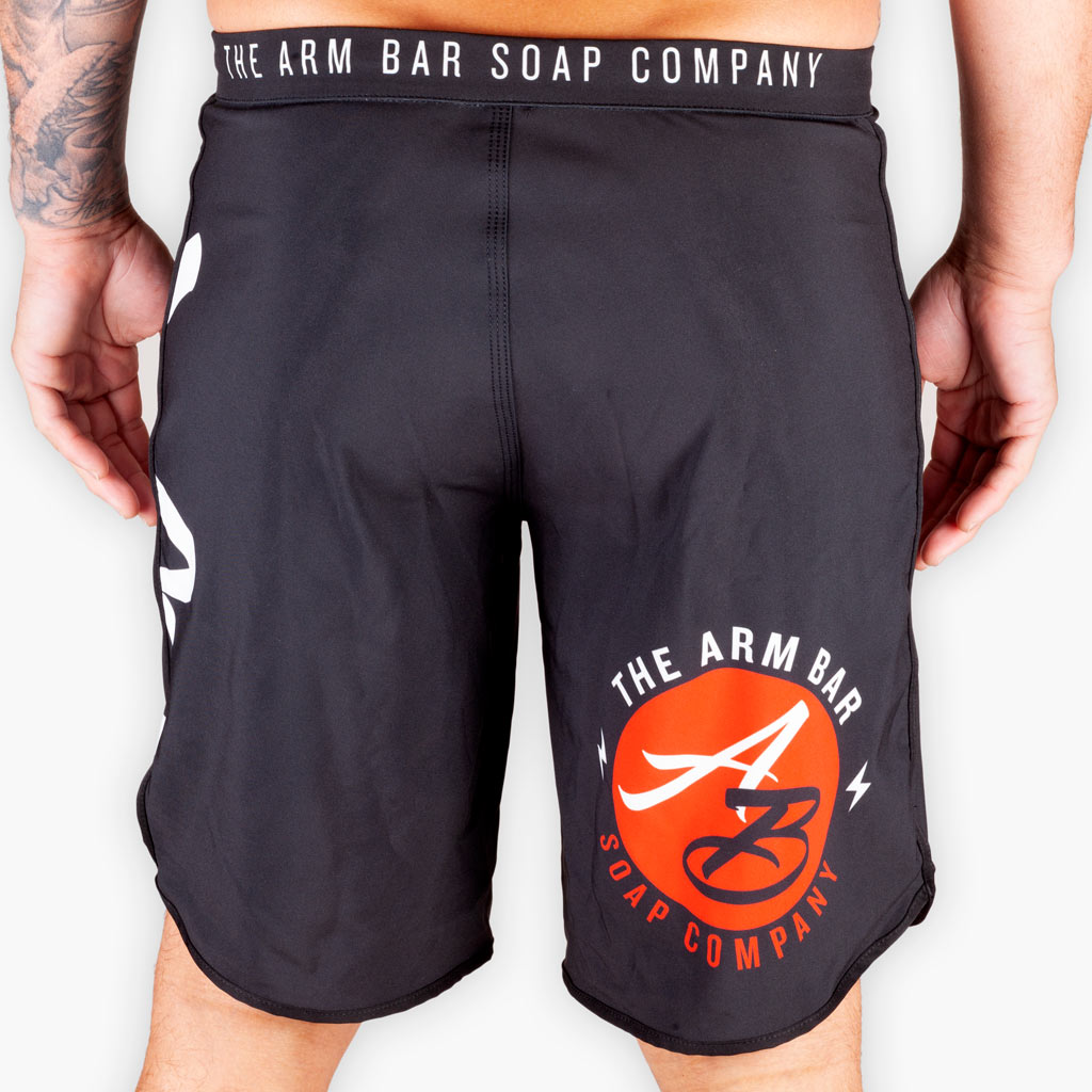 THE OFFICIAL ISSUE COMPETITION SHORTS - V1 (Longer Cut) - Apparel - The Arm Bar Soap Company