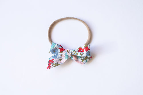 Stars and Dandelions Baby Bow, Liberty