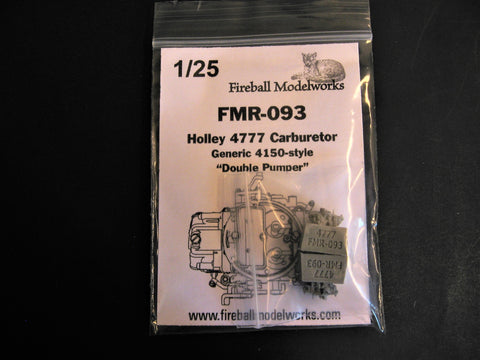 Holley 4777 Carburetor Set of 2  1/25th Scale