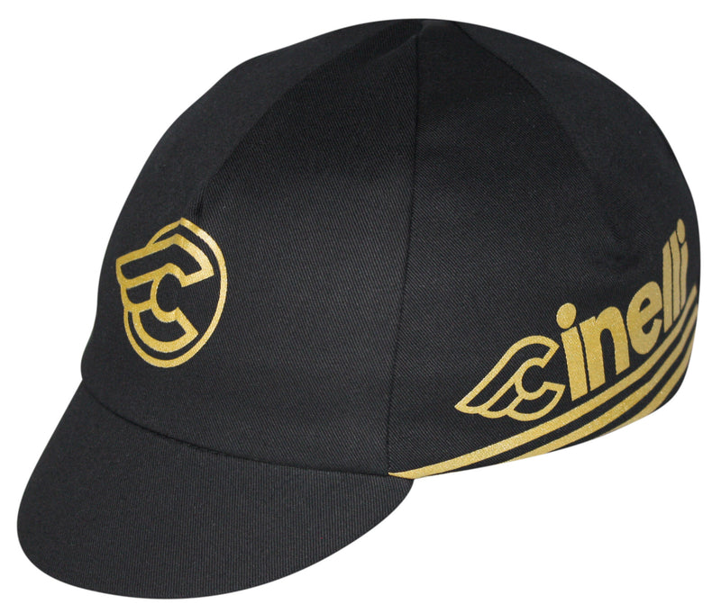 Cinelli Traditional Cycling Cap - Gold