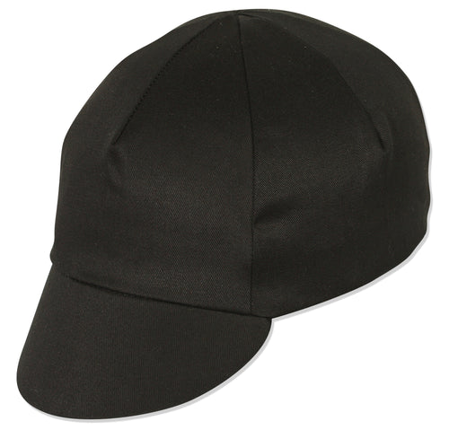 Traditional Cycling Cap Black