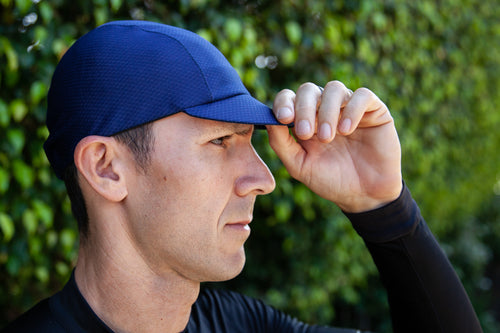 Hex-Tek Cycling Cap - Navy