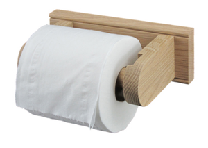 Toilet Roll Holder - Wooden