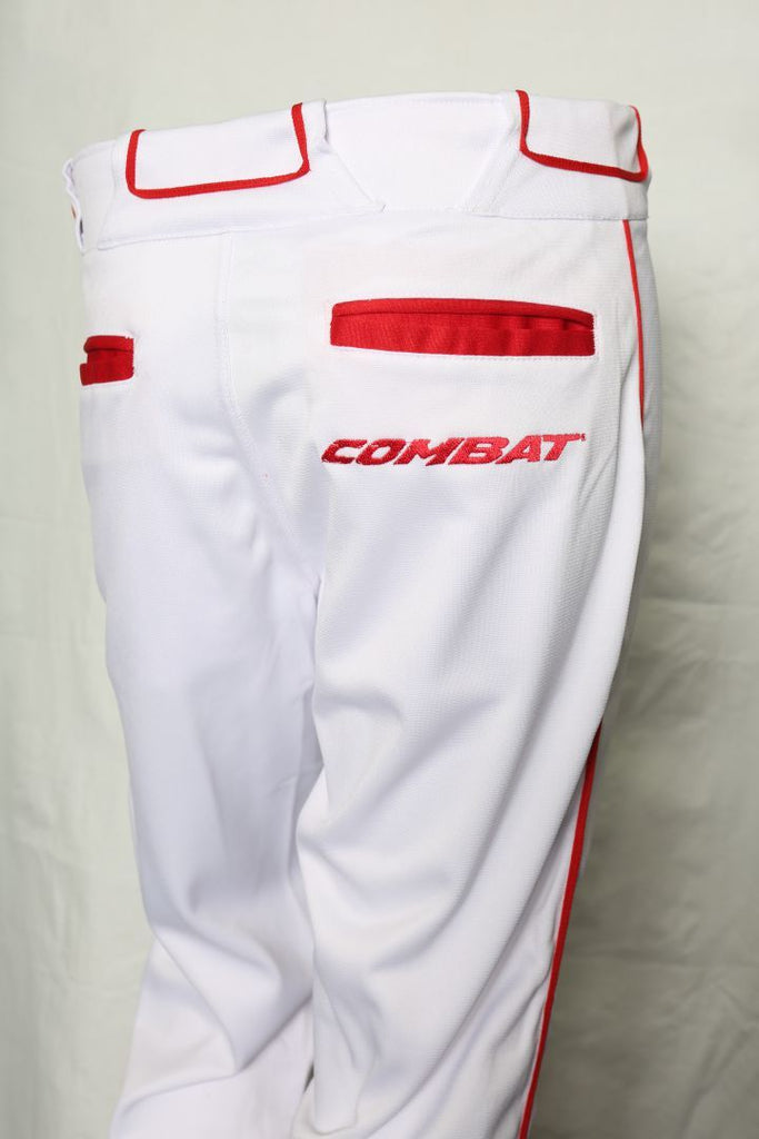 Premium Stock Pant White/Red