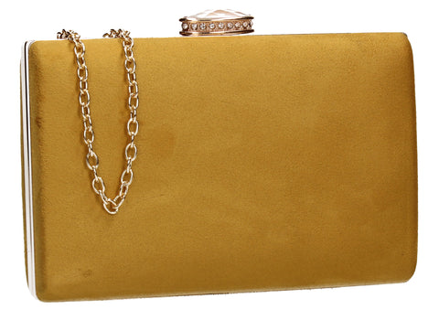 SWANKYSWANS Surrey Clutch Bag Yellow
