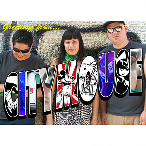 "City Mouse - Bad Weather (5"" Flexi Postcard)"