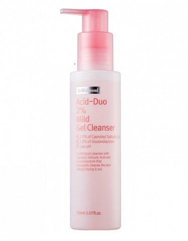 < NEW ARRIVAL > Acid-duo 2% Mild Gel Cleanser By Wishtrend - 150ml
