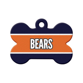 Football Jersey Bone Pet ID Tag