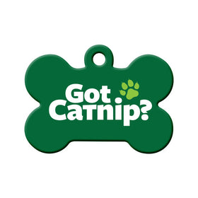 Got Catnip? Circle Pet ID Tag