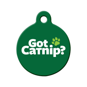Got Catnip? Bone Pet ID Tag