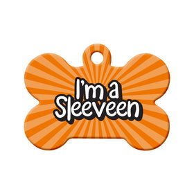 I'm a Sleeveen, Newfoundland Saying Bone Pet ID Tag