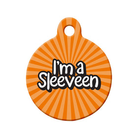 I'm a Sleeveen, Newfoundland Saying Circle Pet ID Tag