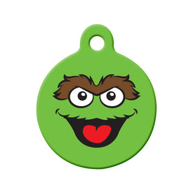 Oscar Fan Art Circle Pet ID Tag
