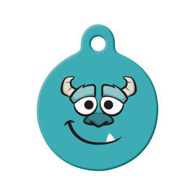 Sulley Monters Inc Circle Pet ID Tag