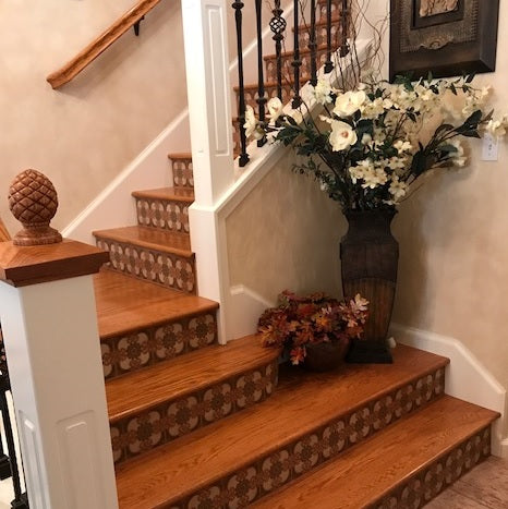 Favorite Stair Riser Tile Designs and Tips