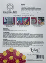 English Paper Piecing Made Modern Templates