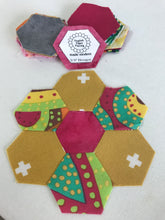 English Paper Piecing Made Modern Hexagons 3/4""