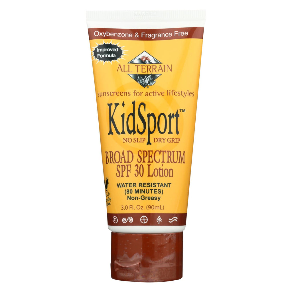 All Terrain Kid Sport Performance Sunscreen Spf 30 - 3 Fl Oz