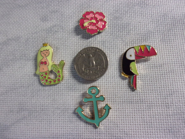 Metal South Seas Needle Minders