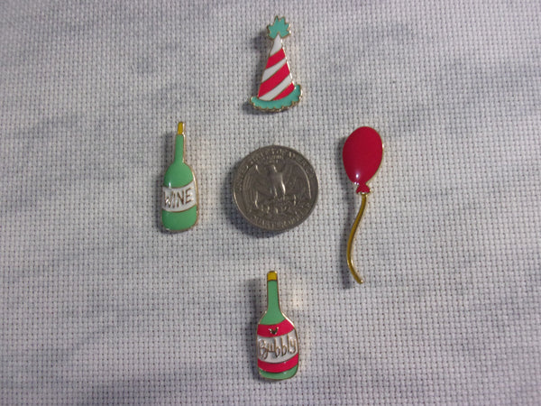 Metal Party Time Needle Minders