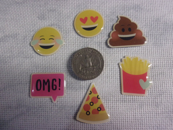 Emoticon Needle Minders