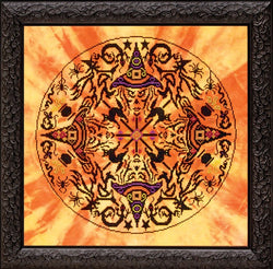 Glendon Place Witches Wheel GP-168 halloween cross stitch pattern