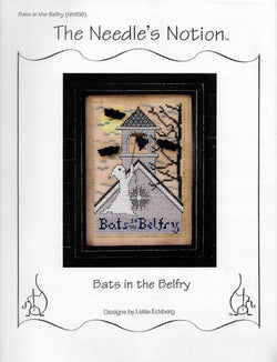 Needle's Notion Bats in the Belfry cross stitch pattern