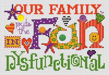 Sue Hillis DysFUNctional cross stitch pattern