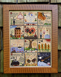 Carriage House Samplings Year at Hawk Run Hollow cross stitch pattern
