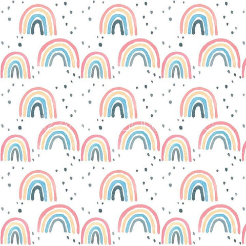 Bright Rainbow Play Mat