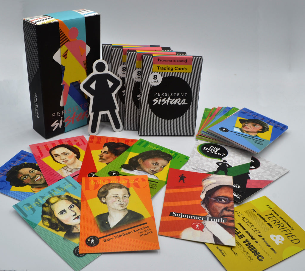 Women's History Trading Cards Trailblazers Gift Box