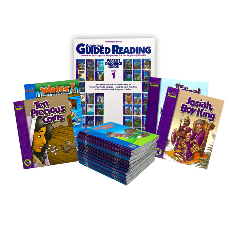 Guided Reading Complete Program (95 Books + Parent Resource Guide)