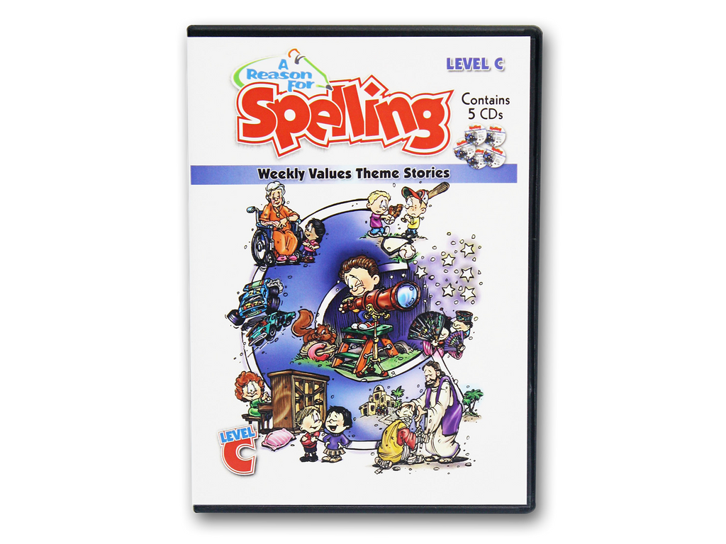 Spelling Level C Theme Story CDs