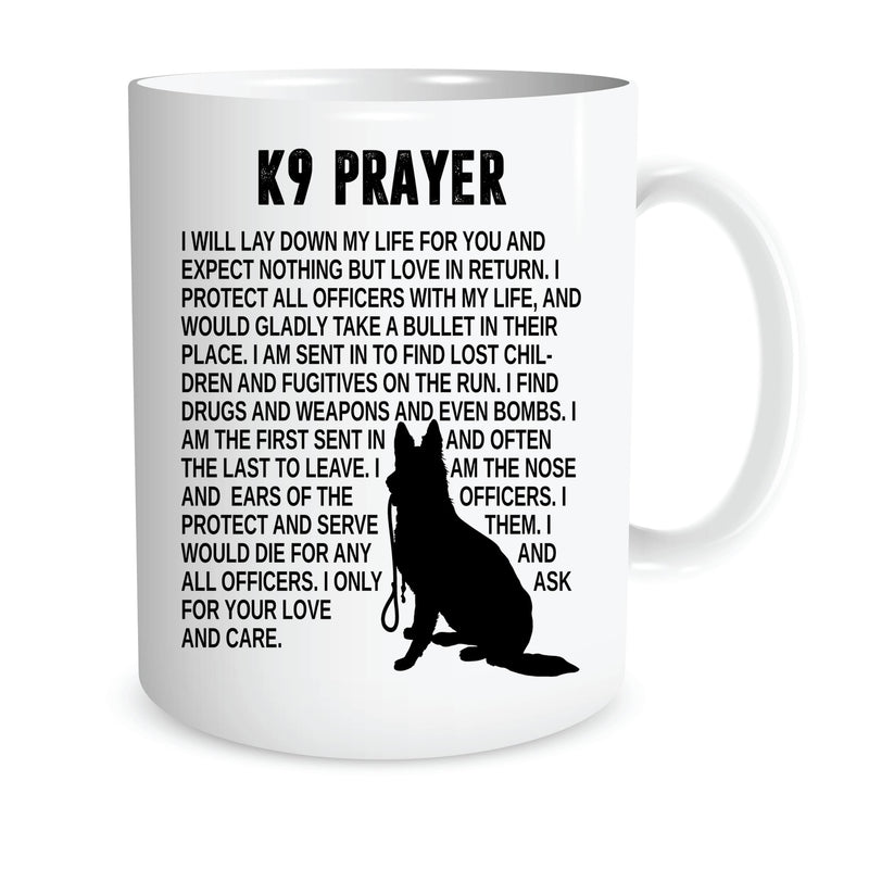 K9 PRAYER COFFEE MUG