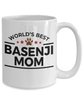 Basenji Dog Mom Coffee Mug
