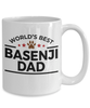 Basenji Dog Dad Coffee Mug