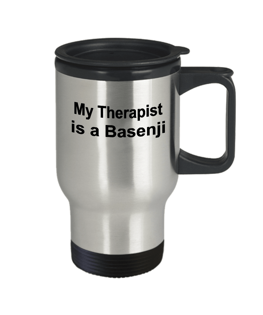 Basenji Dog Therapist Travel Coffee Mug
