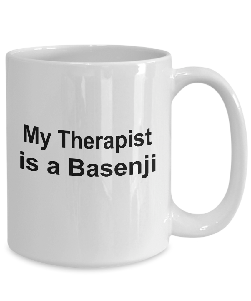 Basenji Dog Therapist Coffee Mug