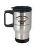 Kuvasz Dog Dad Travel Mug