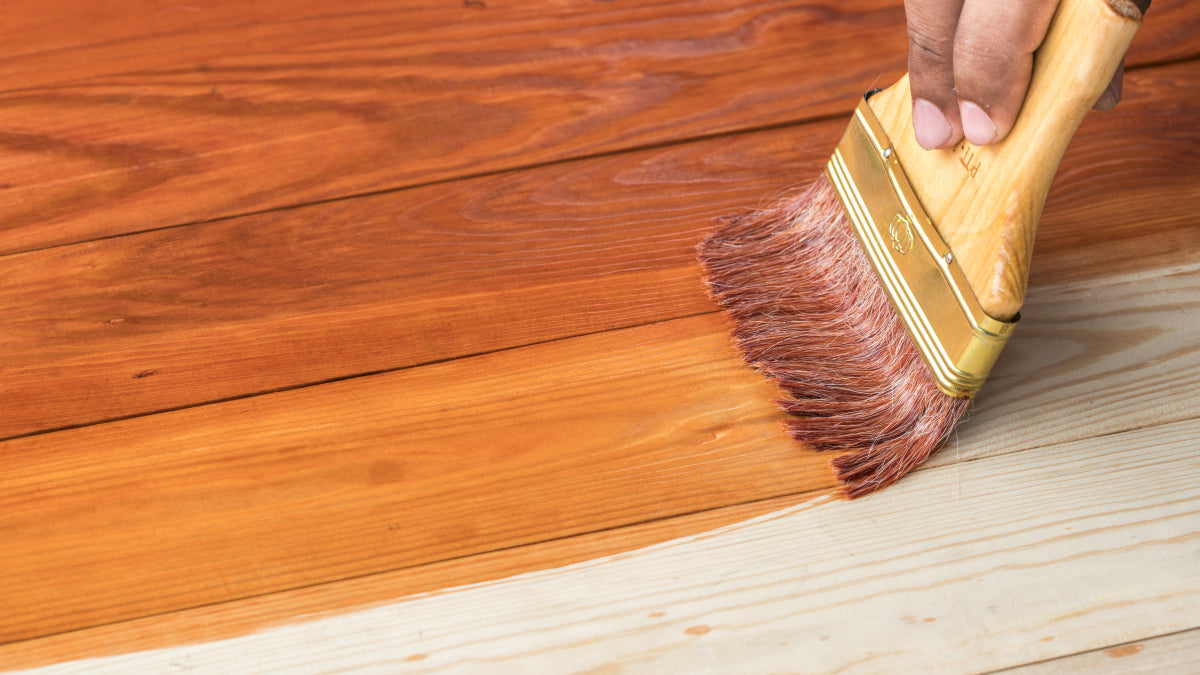 "Cleanup Comparison: PureColor Wood Stain vs. ""The Others"""