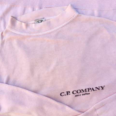 vintage C.P. Company SS 90s Cotton Sweater by Massimo Osti