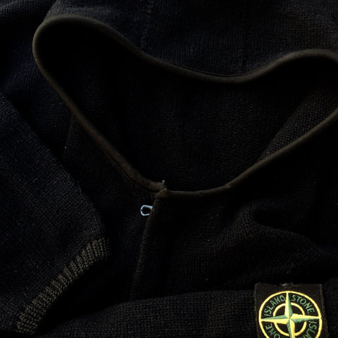 Stone Island AW 2004 Hooded Knit - S/M