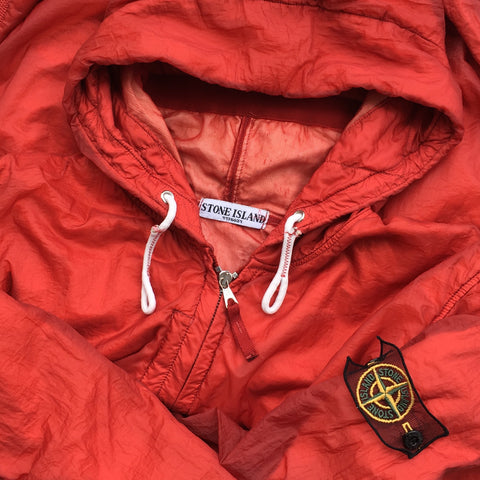 Stone Island SS 2008 Superlight Resined Nylon Hooded Jacket