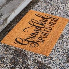 Grandkids Spoiled Here - Door Mat