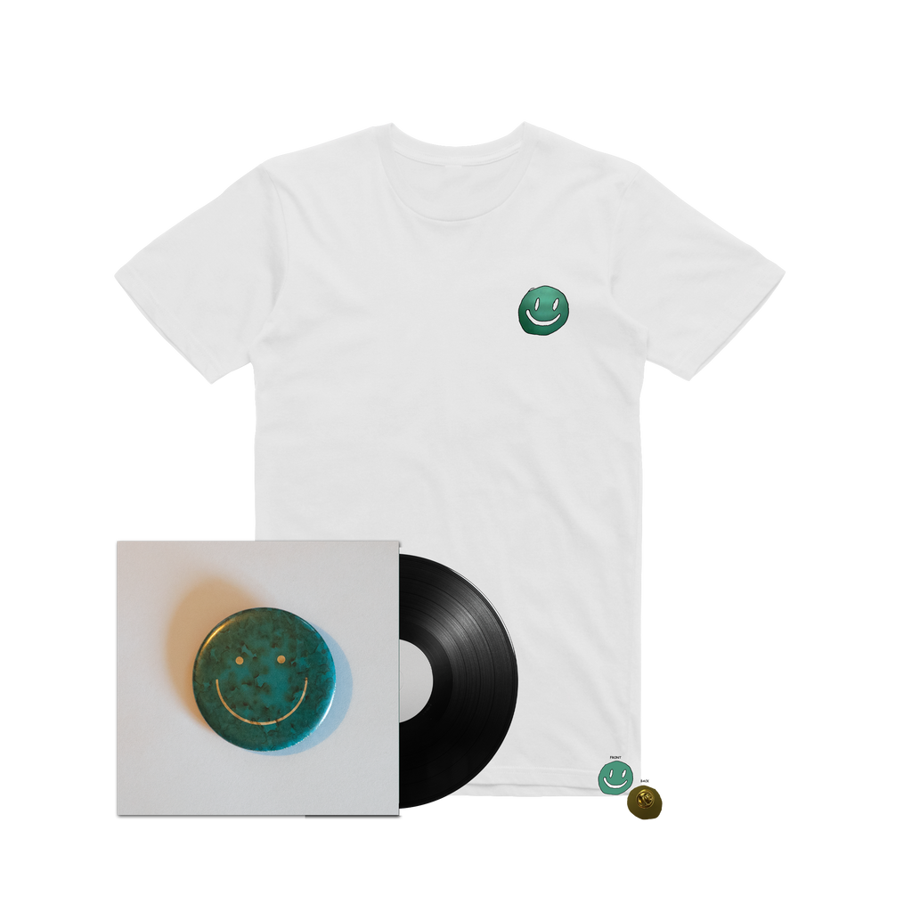 Here Comes The Cowboy / LP + T-Shirt bundle