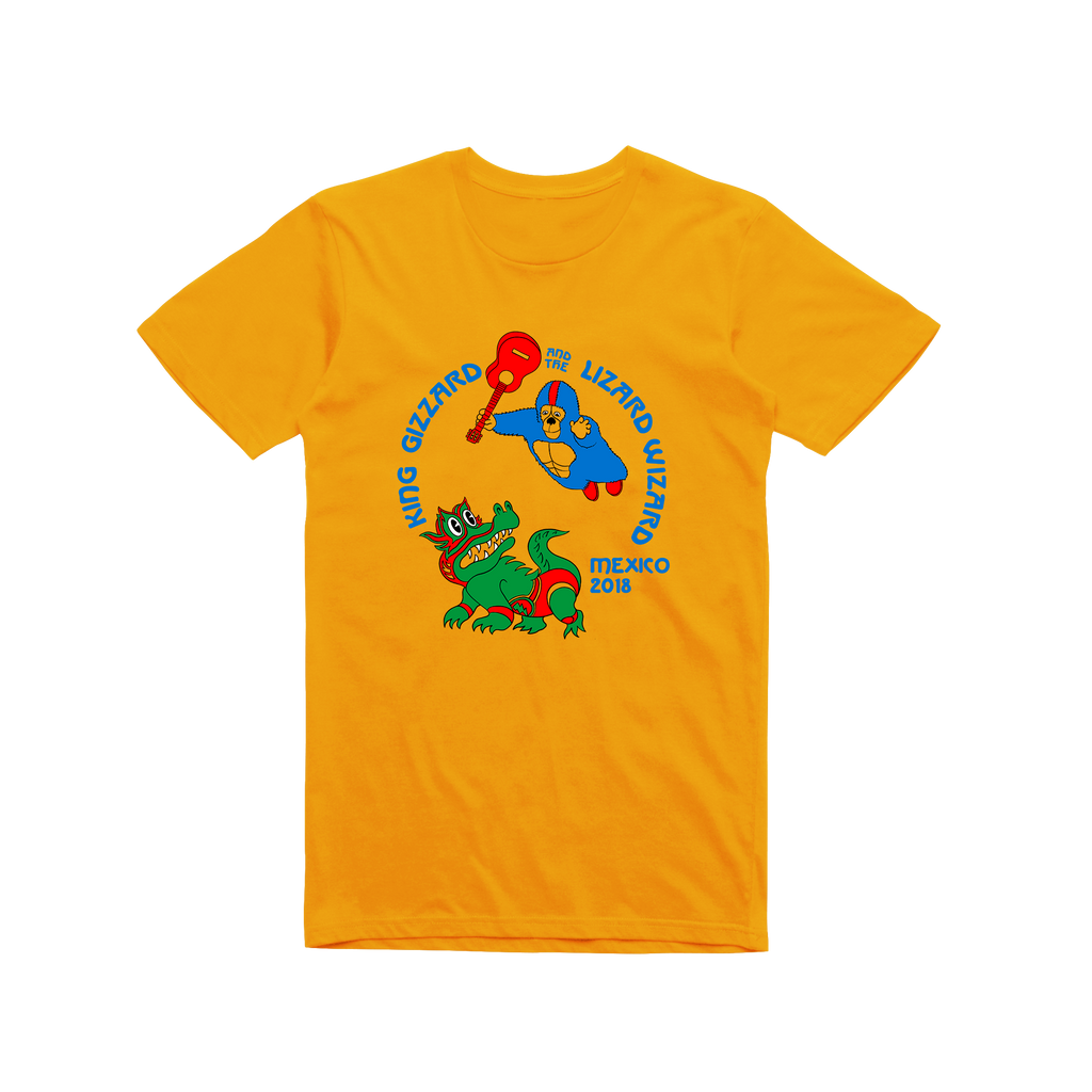 Mexico / Gold T-shirt
